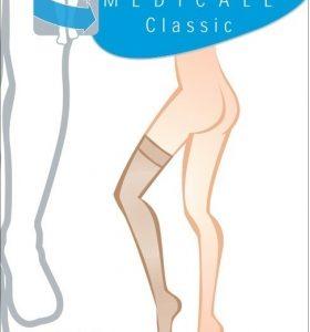 Κάλτσες ριζομηρίου με λάστιχο σιλικόνης,Κλάση Ι,15-21mmHg