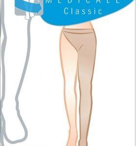 Κάλτσα ριζομηρίου Αριστερή με ζωνάκι